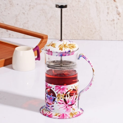 Desenli 600 ML Frenchpress