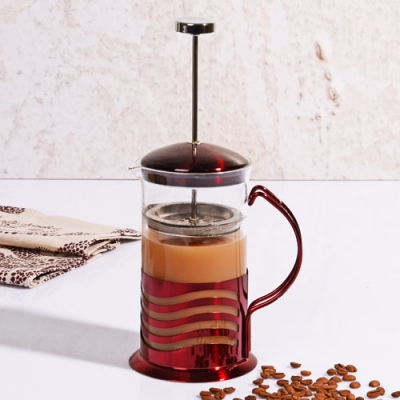 Renkli 600 ML Frenchpress