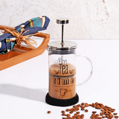 Silikonlu 350 ML Frenchpress